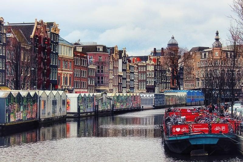 O que fazer em Amsterdam: Bloemenmarkt