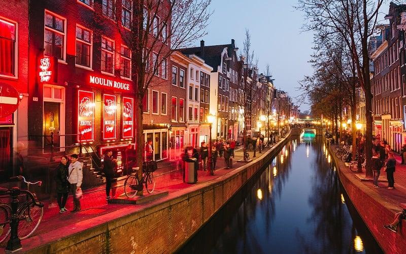 O que fazer em Amsterdam: Distrito Red Light