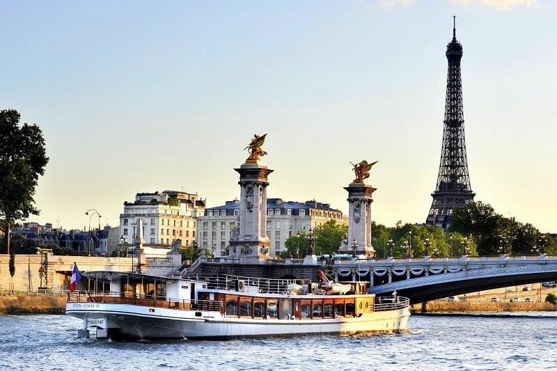 O que fazer em Paris: Rio Sena