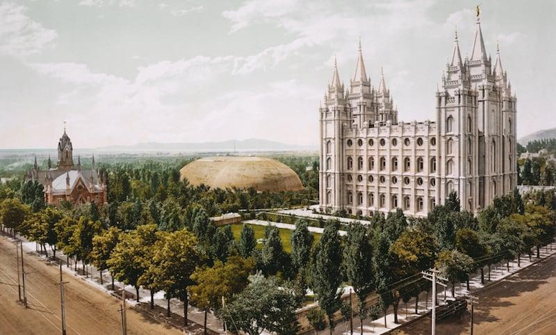 O Que Fazer em Salt Lake City em Utah: Temple Square