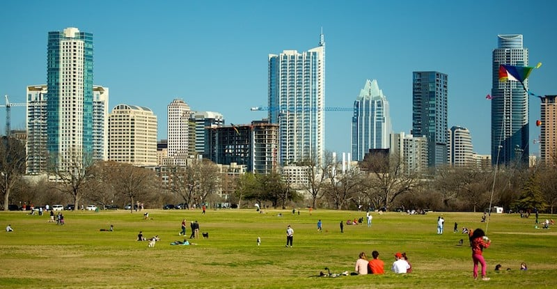 O Que Fazer em Austin: Zilker Park