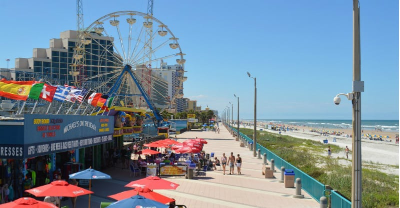 O Que Fazer em Daytona Beach: Daytona Beach Pier and Boardwalk