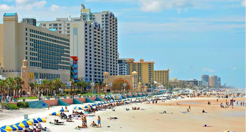 O Que Fazer em Daytona Beach: Praias