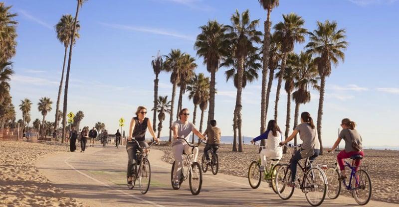 O Que Fazer em Santa Monica: Passeio de Bicicleta