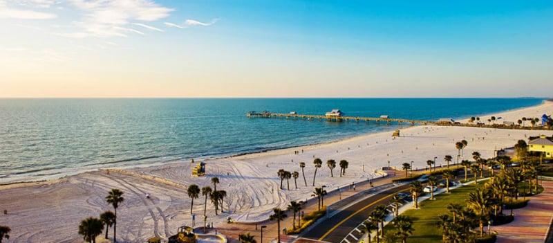 O Que Fazer em Clearwater: Praias