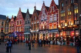 O Que Fazer em Bruges na Bélgica