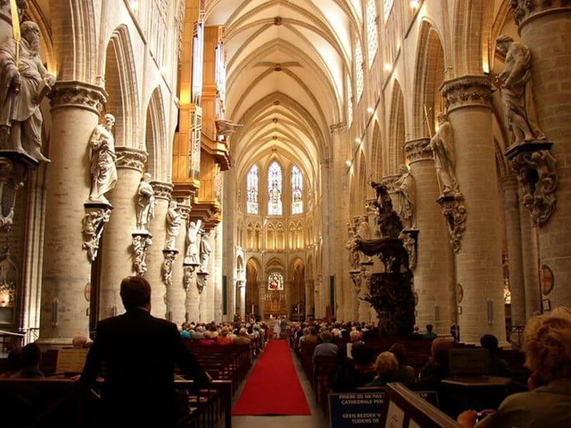 O que fazer em Bruxelas: Catedral de São Michel
