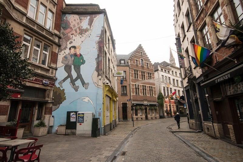 O que fazer em Bruxelas: Rota dos Quadrinhos