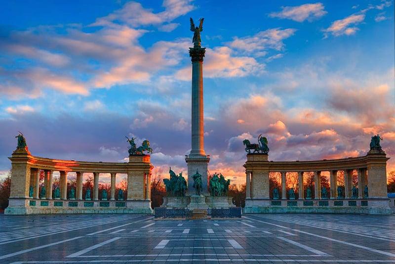 O que fazer em Budapeste: Praça dos Herois