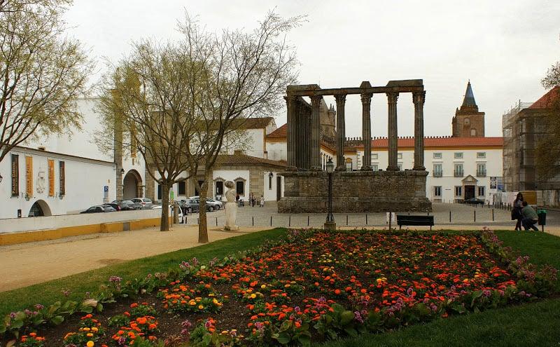 O que fazer em Évora: Jardim de Diana