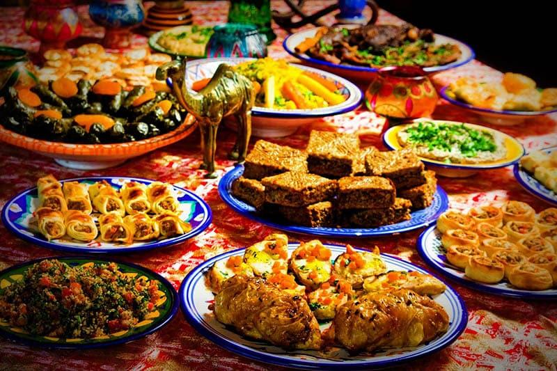 O que fazer em Granada: Comida Árabe