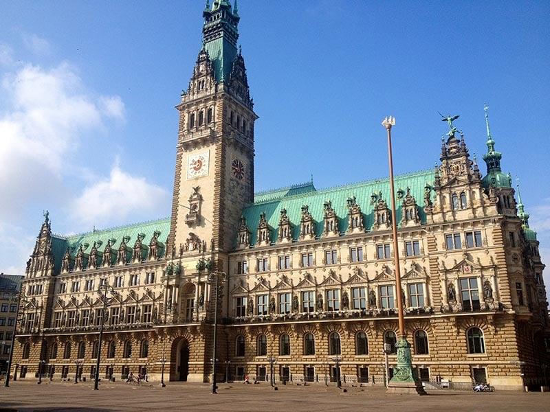 O que fazer em Hamburgo: City Hall