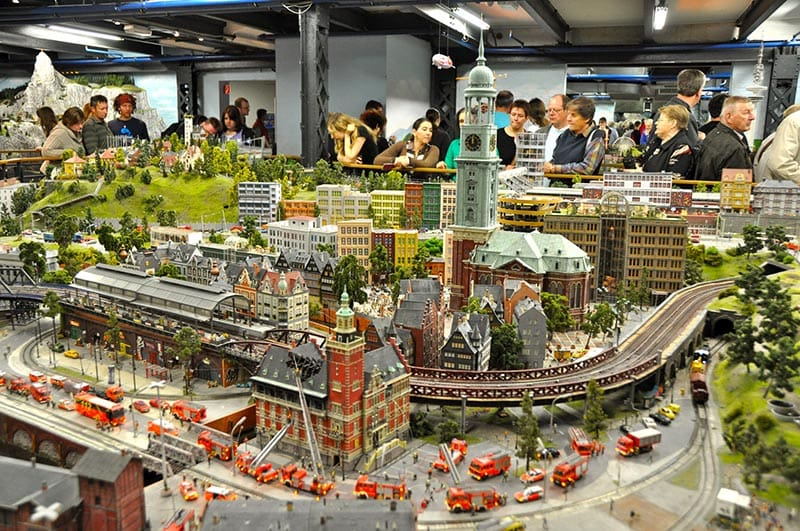 O que fazer em Hamburgo: Miniatur Wonderland