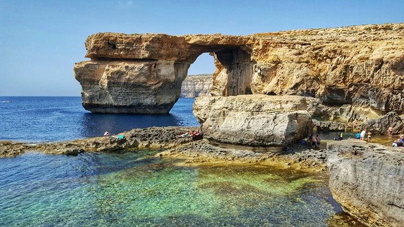 O que fazer em Malta: Azure Window