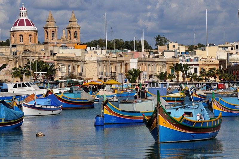 O que fazer em Malta: Marsalokk