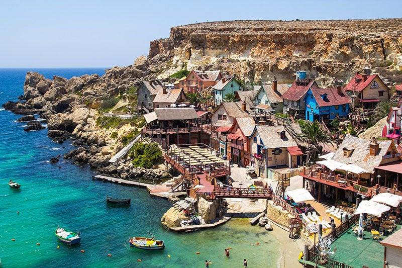 O que fazer em Malta: Popeye Village