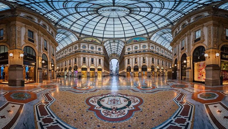 O que fazer em Milão: Galeria Vittorio Emanuele