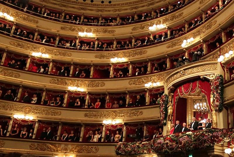 O que fazer em Milão: Teatro Scala