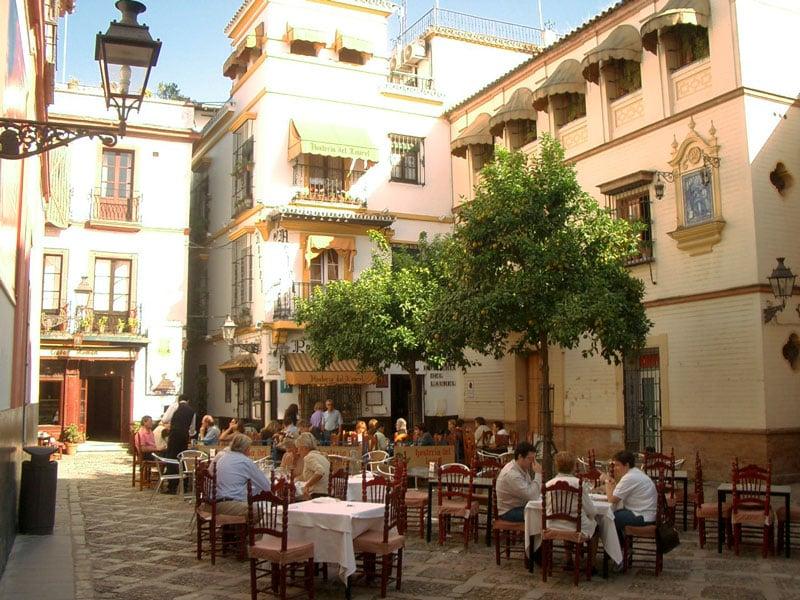 O que fazer em Sevilha: Santa Cruz