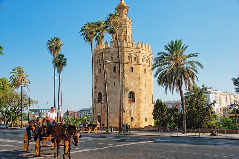 O que fazer em Sevilha: Torre del Oro