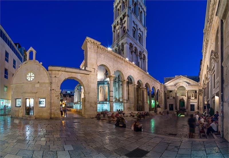 O que fazer em Split: Jardim Peristil