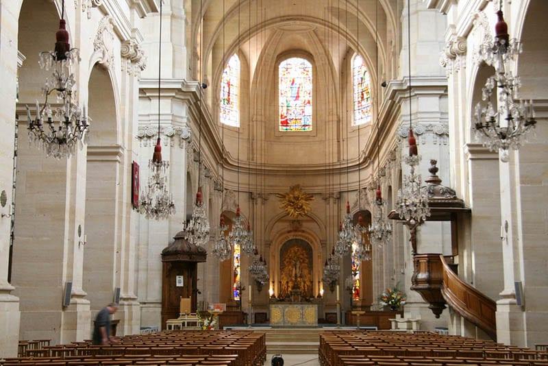 O que fazer em Versalhes: Catedral