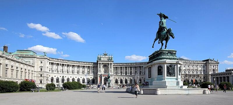 O que fazem em Viena: Holfburg