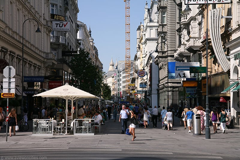 O que fazer em Viena: Kärntner Straße