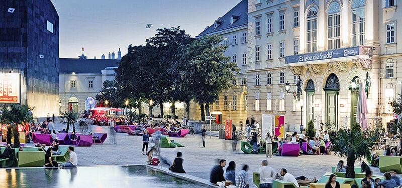 O que fazer em Viena: Museumsquartier