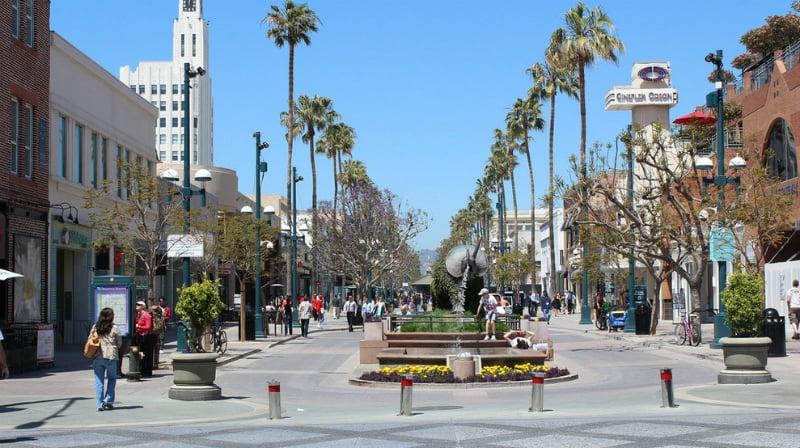 O Que Fazer em Santa Monica: Third Street Promenade