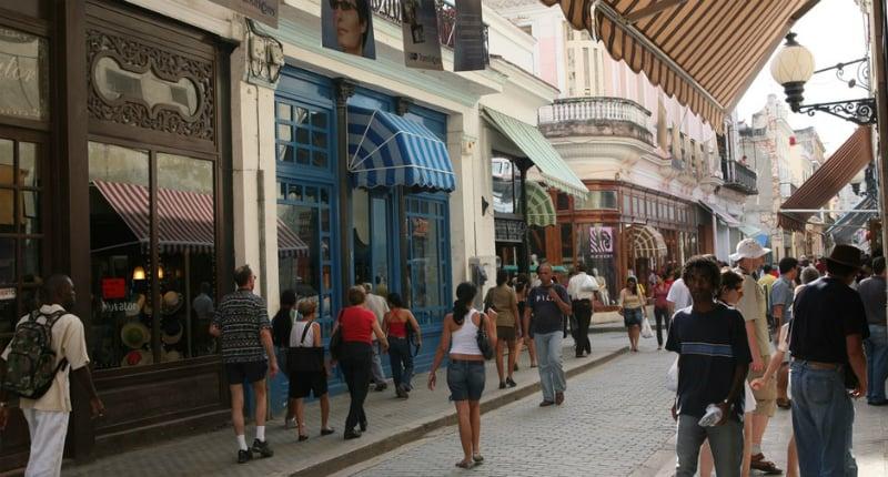 O Que Fazer em Havana: Calle Obispo