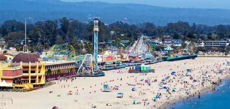 O Que Fazer em Santa Cruz: Board Walk