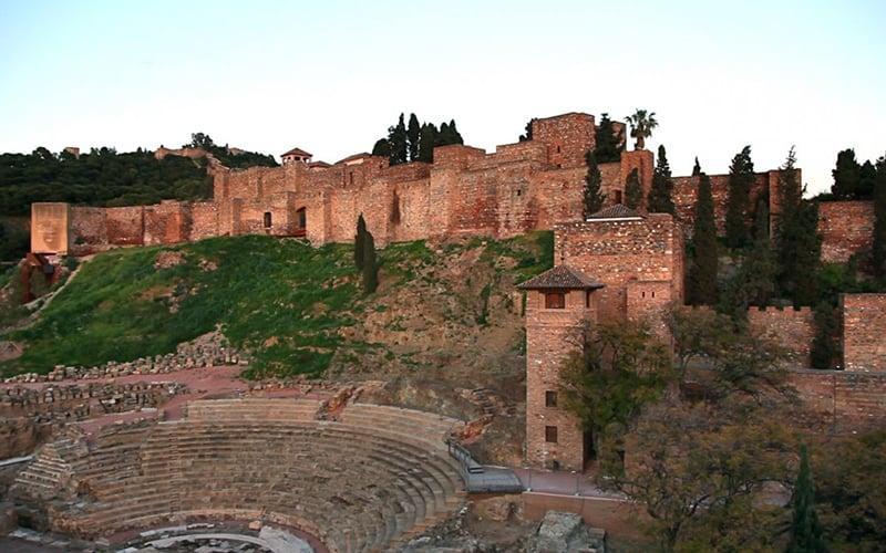 O que fazer em Malaga: Castelo