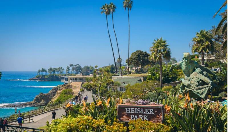 O Que Fazer em Laguna Beach: Heisler Park