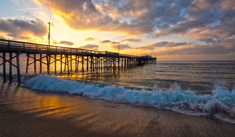 O Que Fazer em Newport Beach: Balboa Pier
