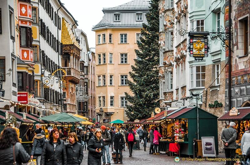 O que fazer em Innsbruck: Rua Herzog