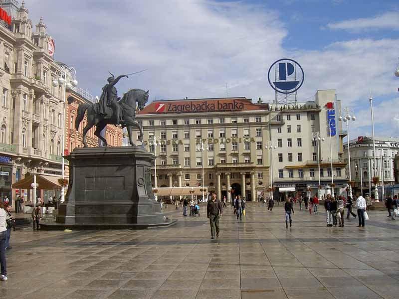 O que fazer em Zagreb: Trg Josipa Jelačić