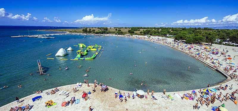 O que fazer em Zadar: Praia