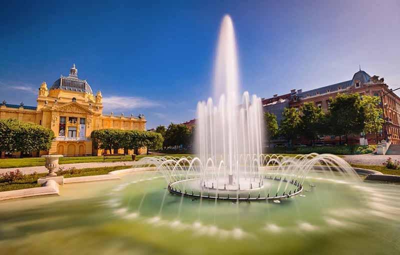 O que fazer em Zagreb: Parque Kralja Tomislava