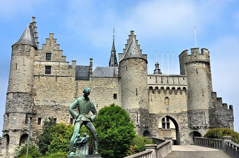 O que fazer em Antuérpia: Castelo Het Steen