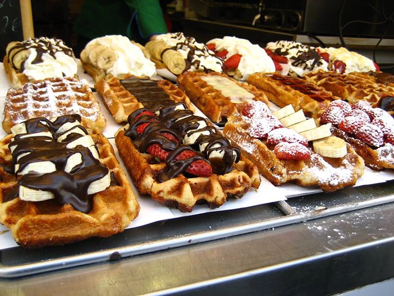 O que fazer em Antuérpia: Comer Wafle
