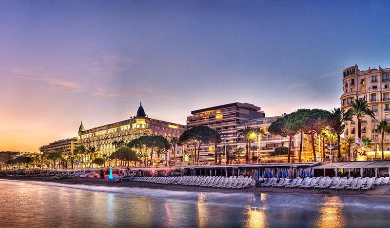 O que fazer em Cannes: Avenida La Croisette