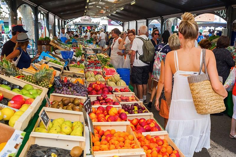 O que fazer em Cannes: Forville Market