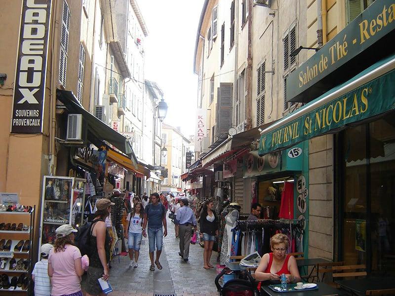 O que fazer em Cannes: Rue Meynadier