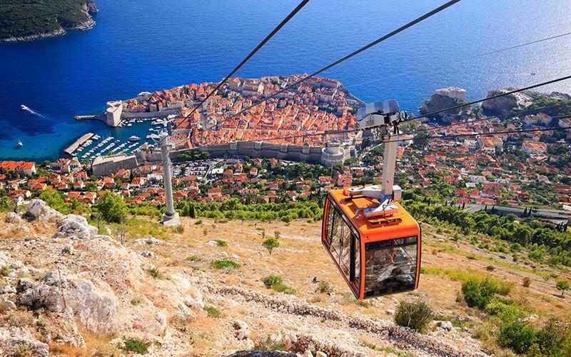O que fazer em Dubrovnik: Bondinho