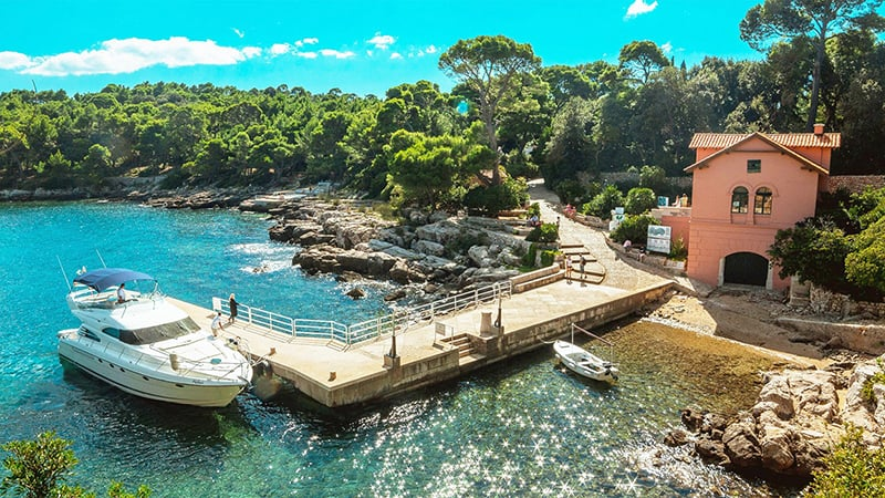 O que fazer em Dubrovnik: Ilha Lokrum