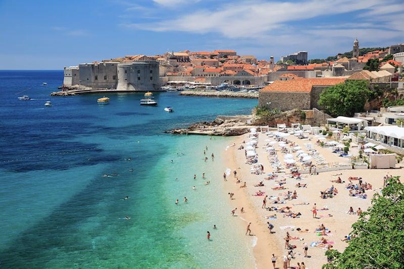O que fazer em Dubrovnik: Praias