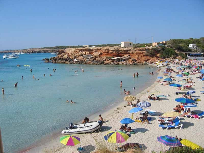 O que fazer em Formentera: Cala Saona
