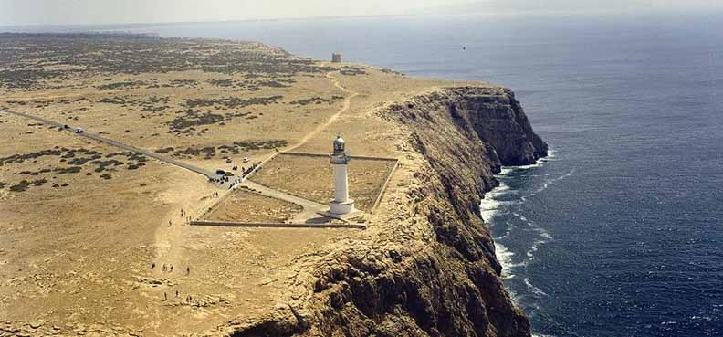 O que fazer em Formentera: Cap de Barbaria