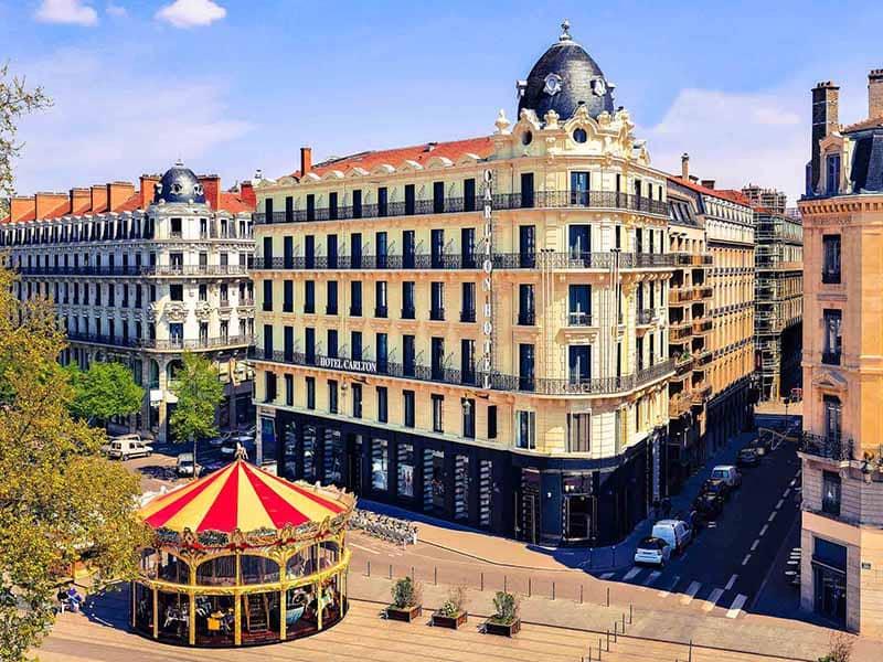 O que fazer em Lyon: Hotel